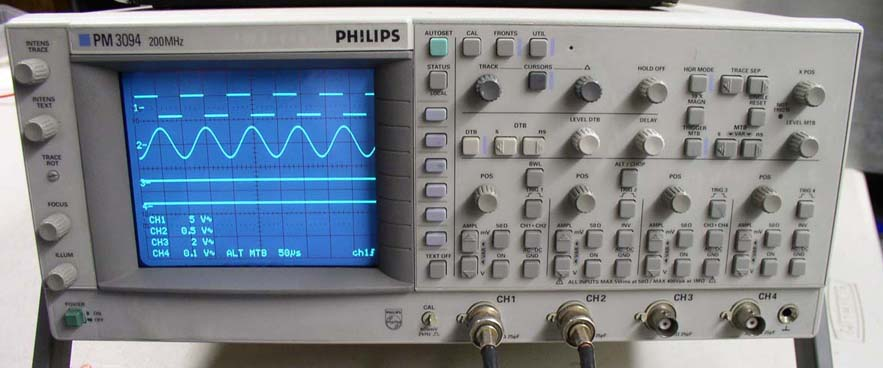 Image of PM3094 Oscilloscope