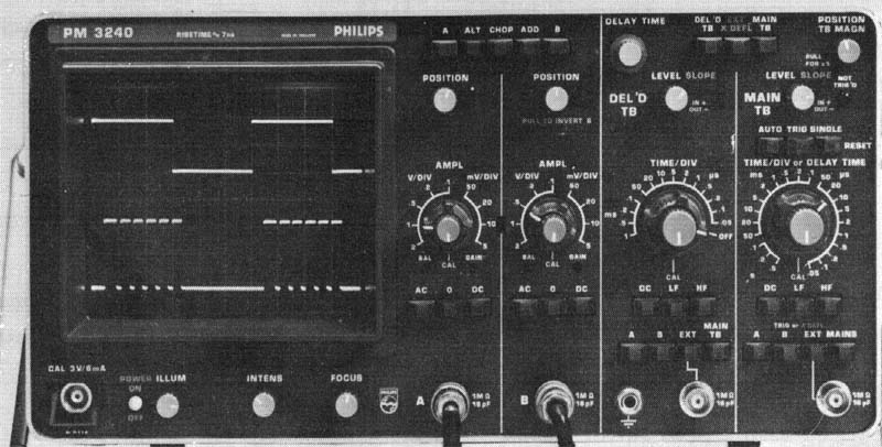 Image of Philips PM3240 Oscilloscope