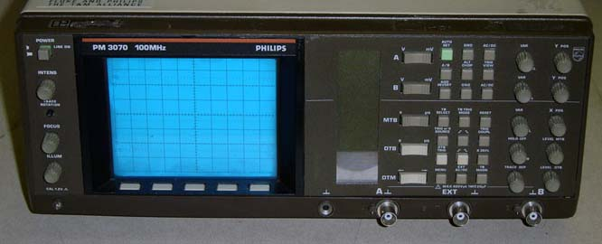 Image of Philips PM3070 Oscilloscope