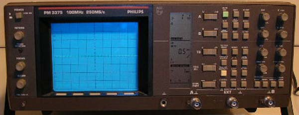 Image of Philips PM3375 Oscilloscope