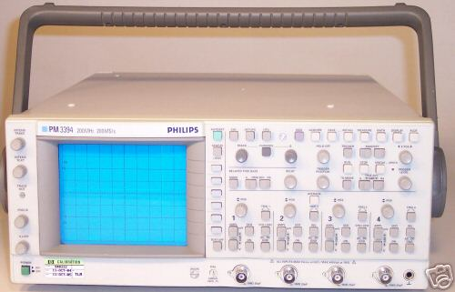 Image of Philips PM3394 Oscilloscope